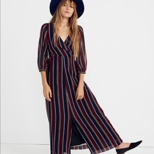 Madewell Maxi Dress in Stockdale Stripe